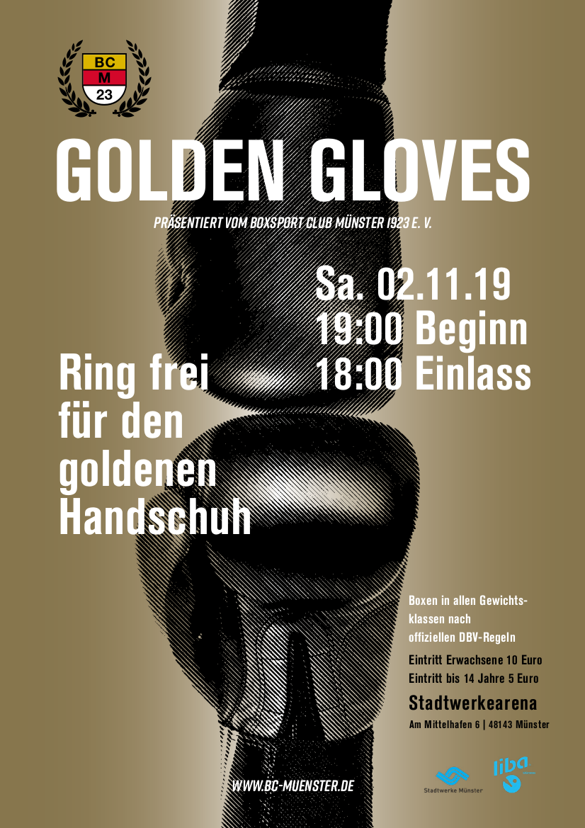 PlakatA4 GoldenGloves 2019